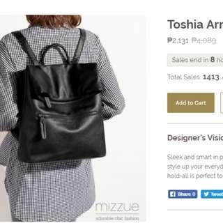 Preloved Black Backpack