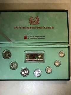 1997s Sterling Silver Proof Coin Set