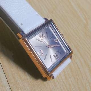 Marc by MARC JACOBS Jam tangan wanita Rose Gold tali putih cewek