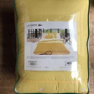 Lacoste bedding queen size set