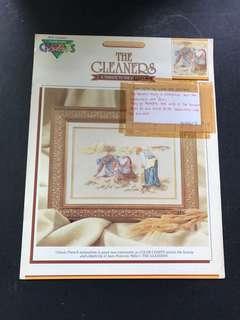 Cross Stitch book - The Gleaners