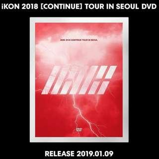 IKON-2018 Continue Tour in Seoul [DVD]