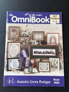 Cross Stitch book - Omnibook (107 designs)