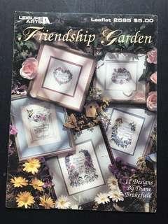 Cross Stitch book - Friendship Garden