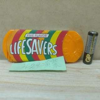 Life Savers Candy 香港製造 鏡梳紀念品