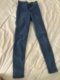 Topshop Joni jeans W24L28