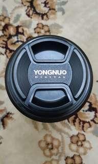 Yongnuo YN85C 85MM F1.8 Canon Lens For Portrait ( 85MM Lens )