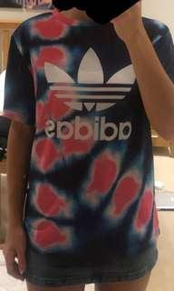 Tie die Adidas shirt