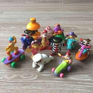 麥當勞Mcdonld 懷舊玩具