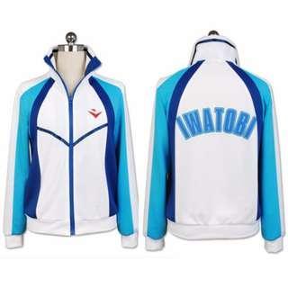 🚚 🉐 Iwatobi Swim Club Jacket Hoodie (In-stock)