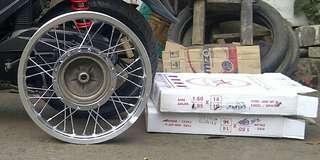 Velg tapak lebar TK Racing ring 16 (Motor Matic Yamaha)
