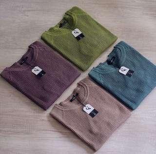 GONEGANI Daily Sweater Greentea