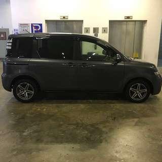 Toyota Sienta 1.5A For Rent GOJEK Grab 6seater