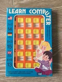 全新 80年代益智玩具 香港製造