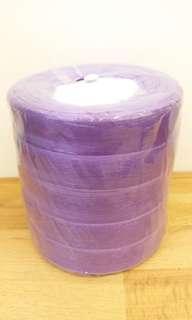 Ribbon Roll 2cm (Chiffon) Purple