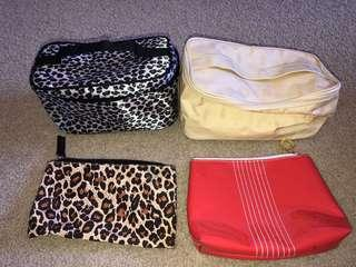Makeup/toiletries bags