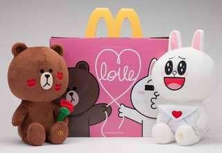 McDonald's x LINE Friends Forever Love Special Edition