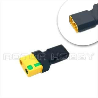 Anti-Spark XT90S Female to XT60 Male Connector Adapter, antispark. Code: XT90S.F-XT60.M