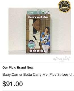 Baby Sling Carrier - Betta Carry Me