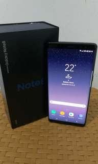 Samsung Note 8 Dual Black