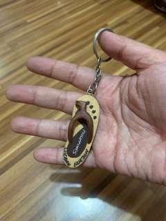 Lucban Slipper Keychain