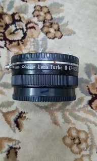 Zhongyi Lens Turbo II Canon EOS To Sony E Mount Lens Turbo Focal Reducer Adapter ( Converts Camera To Full Frame )