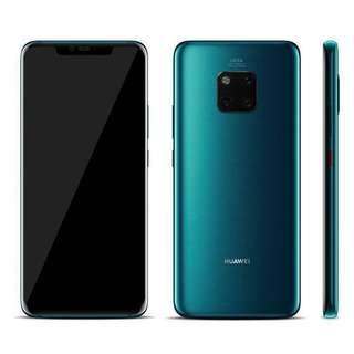 Huawei Mate 20 Pro w/SIM storage, wireless charger