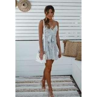 baby blue dress saints and secrets rrp $150 BNWT