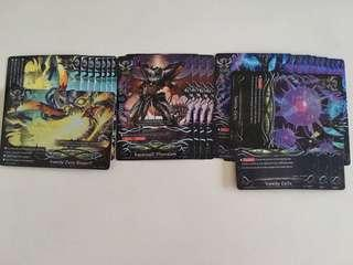Buddyfight lost world dimension destroyer playset