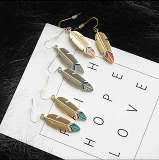 🚚 波西米亞風耳環 耳夾
