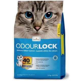 Intersand Odour Lock 加拿大 鎖臭40天無塵貓砂 12kg