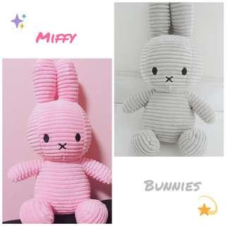 Miffy soft toy bunnies :>