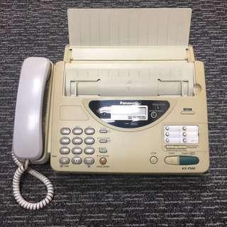 熱敏紙傳真機 thermal paper fax machine 100% working
