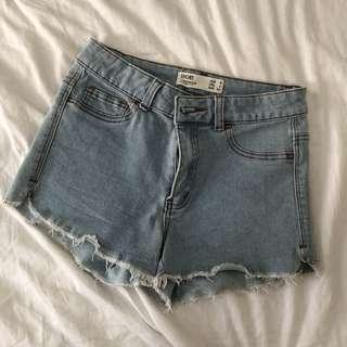 cotton on frayed shorts