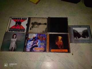 Rock cds and metal