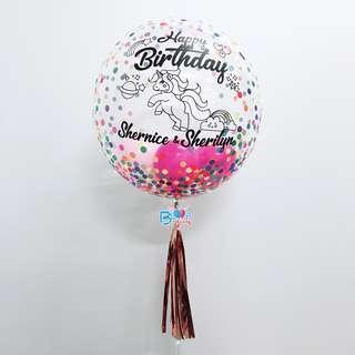 "24"" Personalised Helium Balloon 🎈"