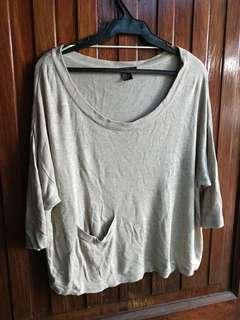 H&M Knitted Oversized Top