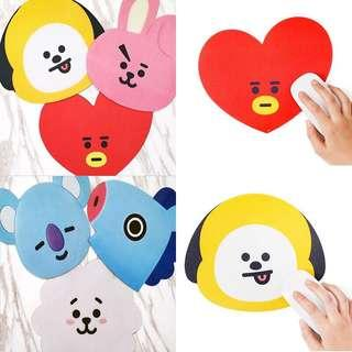 BT21 Unofficial Mouse Pad