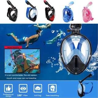 Full Face Snorkelling Mask