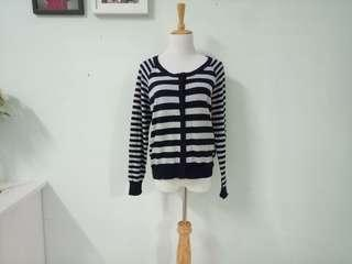 Preloved Stripes Cardigan