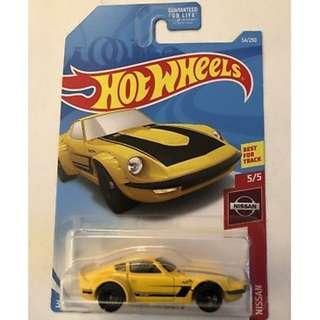 Hotwheels 2019 Nissan Series Nissan Fairlady Z Rare
