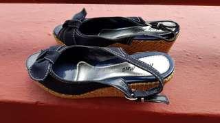 Marie Macli Wedge Heel Sandal