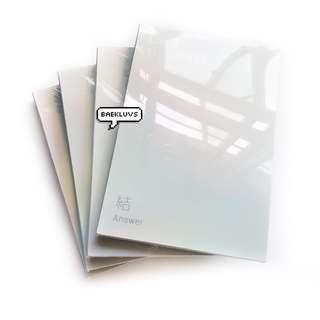 [W POSTER / SEALED INSTOCKS] BTS Love Yourself Answer