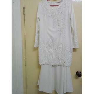Lacy Baju Kurung Nikah
