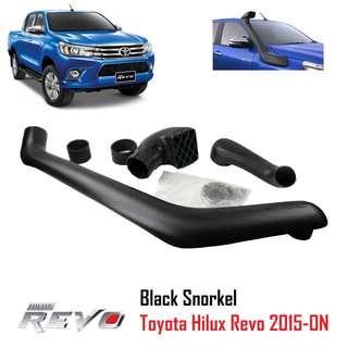 4x4 Off Road Snorkel Kit For Toyota Hilux Revo GUN126R GUN136R 2015+ 1GD 2.8L Diesel