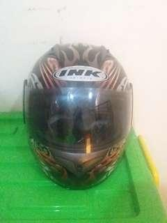 Helm Full Face Size L Double Visor