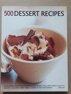500 Desserts Recipes