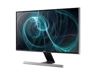 27'' LED monitor SD590 with a metallic stand