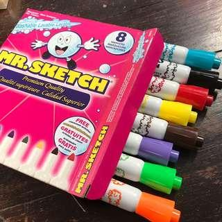 Mr Sketch - 8 colors Markers (Washable)