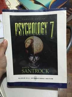Psychology 7 Updated Edition by John W. Santrock